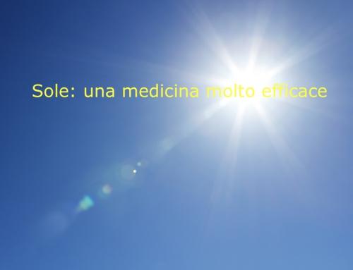 Sole: una medicina molto efficace